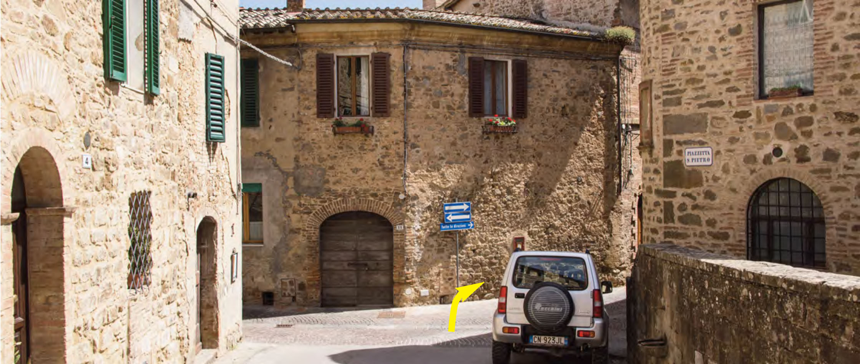 Dove siamo porta castellana - Porta castellana montalcino ...